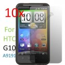 10pcs Film Screen Cover Protector for HTC Desire HD G10 A9191