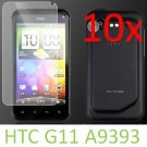 10pcs Screen Film Cover Protector For HTC incredible S S710e G11 A9393 Incredible S
