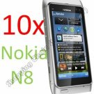 10pcs Screen Film Protector Cover for Nokia N8
