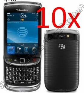 10psc LCD SCREEN COVER PROTECTOR FOR BLACKBERRY 9800 TORCH