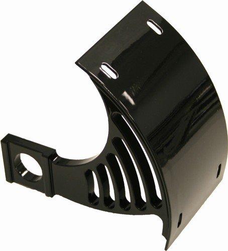 BLACK SUZUKI LICENSE PLATE BRACKET FOR SWINGARM