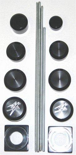 SUZUKI HAYABUSA GSXR 1300 (99-07) ANODIZED BLACK DRESS UP KIT