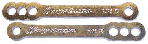 SUZUKI HAYABUSA GSXR1300 (99-07) POLISHED LOWERING LINKS