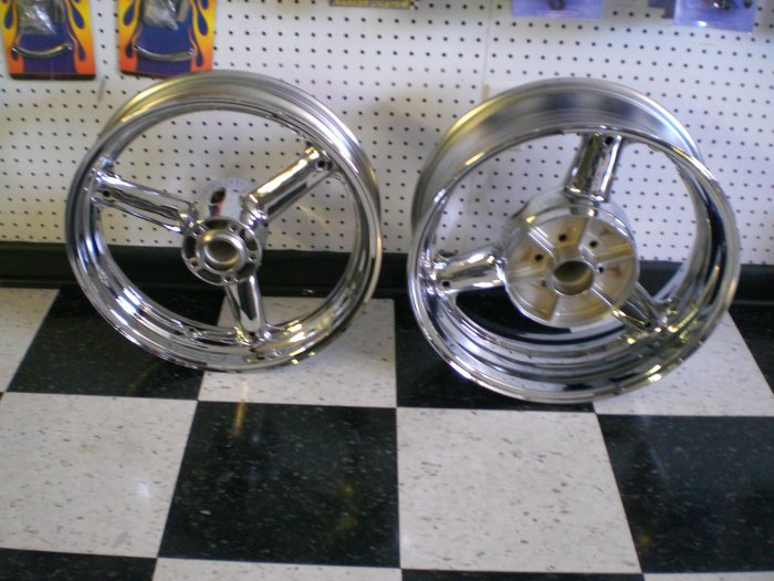 99-07 HAYABUSA CHROME RIMS