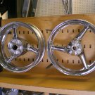 99-06 CBR 600 F4I CHROME RIMS