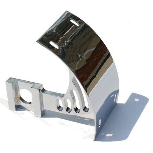 YAMAHA R1/R6 (99-03) R6 (05) CHROME LICENSE PLATE BRACKET FOR SWINGARM