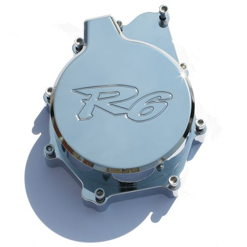 YAMAHA R6 (99-02) CHROME ENGINE COVER (PART # CA2914)