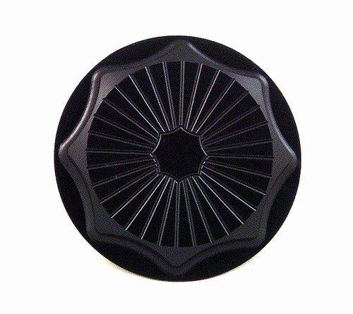 SUZUKI GAS CAP (4 BOLT BRACKET) ANODIZED BLACK FITS  HAYABUSA (99-07) (PART # A3661BL)