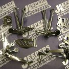 2007/08 gsxr 1000  chrome rear sets