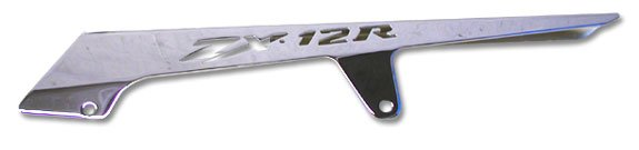 KAWASAKI ZX12R (00-04) CHROME CHAIN GUARD (PART # CA2842)