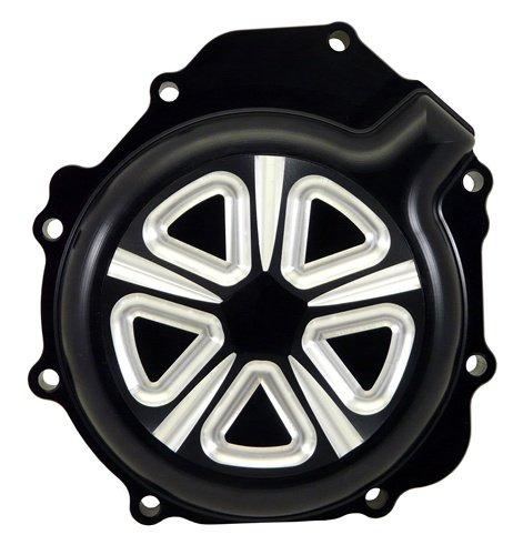SUZUKI GSXR 1000 (05-08) ANODIZED BLACK ENGINE COVER (PART # A2990NB)