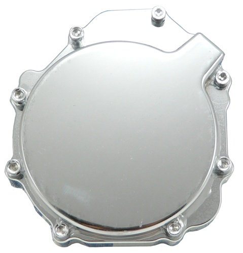 SUZUKI GSXR 600 (01-03) 750 (00-03) 1000 (01-02) TRIPLE CHROME ENGINE COVER (PART # CA2839)
