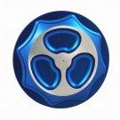 SUZUKI GAS CAP (4 BOLT BRACKET) ANODIZED BLUE FITS 99-07 HAYABUSA PART # A3666BU