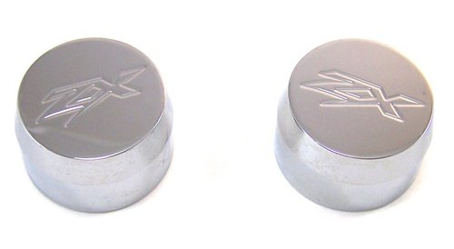 KAWASAKI ZX14 (06) TRIPL CHROMED FORK CAPS (PART # CA3058)