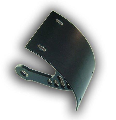 SUZUKI M109 LICENSE PLATE BRACKET - POWDER COATED BLACK (PART # YS2549056)