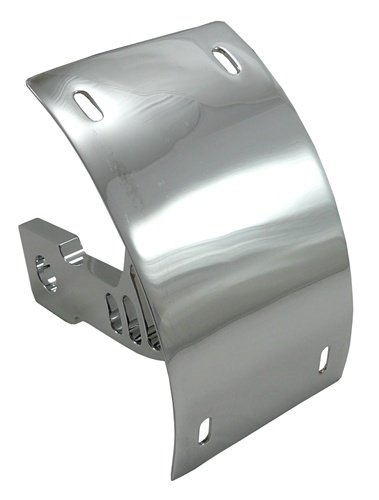 SUZUKI M109 LICENSE PLATE BRACKET - TRIPLE CHROMED  (PART # CYS2549055)