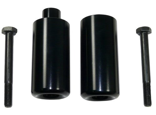 SUZUKI GSXR 1000 (07-08) ANODIZED BLACK FRAME SLIDERS (PART # A4069AB)