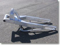 CBR 1000RR 240 TIRE RAW FINISH SWINGARM