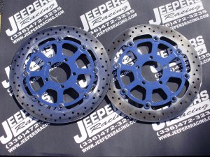 99-07 HAYABUSA CHROME FRONT ROTORS