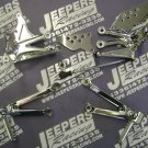04-05 ZX10 R CHROME REAR SETS