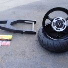 black 240 factory widened wheel kit