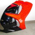2008 & Up Suzuki Hayabusa Black Coated Fairing Screens 061307-009PC