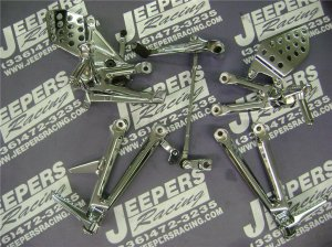 06-07 cbr 1000rr chrome rear sets