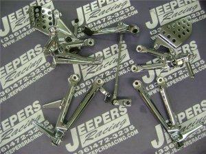 04-05 cbr 1000rr chrome rear sets