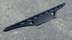 CHAIN GUARD FOR CHROMOLY SWINGARMS