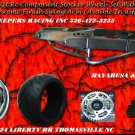 HAYABUSA /GSXR Chrome 330 Wide Tire Kits with CHROME  Replica Wheel