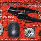 360 WIDE TIRE KIT BLACK ARM WITH RC WHEELS