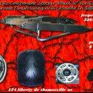 360 WIDE TIRE KIT CHROME SWINGARM WITH RC STOCKER WHEEL