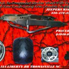 HAYABUSA 360 RAW SWINGARM WITH RC STOCKER WHEEL