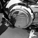 Suzuki M109 Chrome Billet Side Engine Cover - Interstate