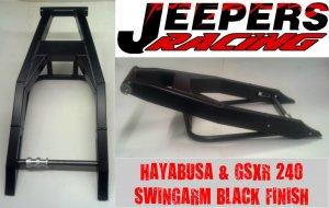 BLACK 240 HAYABUSA & GSXR SWINGARM