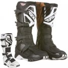 FLY RACING MX BOOTS BLACK
