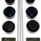SUZUKI GSXR 1000 (05-06) ANODIZED BLACK DRESS UP KIT ENGRAVED