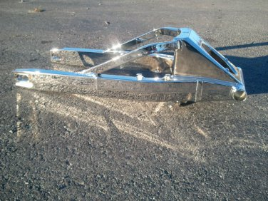 HAYABUSA CHROME EXTENDED SWINGARM