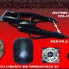 Zx14 360 kit black arm chrome or black replica  wheel