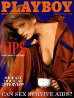 Playboy Magazine February 1986