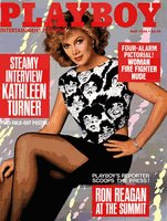 Playboy Magazine May 1986 Kathleen Turner