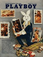 Playboy Magazine January 1973 Holiday Anniversary