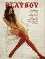 Playboy Magazine February 1973 Jeanette Larson