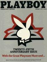 Playboy Magazine January 1979 25th Anniversary Issue