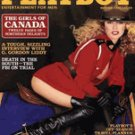 "Playboy Magazine ""The Girls Of Canada"" October 1980"