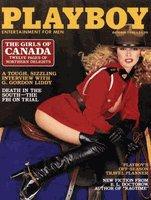 "Playboy Magazine ""The Girls Of Canada"" October 1980"