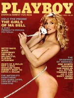 Playboy Magazine July 1982 The Girls of Ma Bell