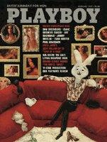 Playboy Magazine January 1977 Holiday Anniversary Issue