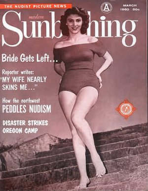 Modern Sunbathing magazine. March 1960