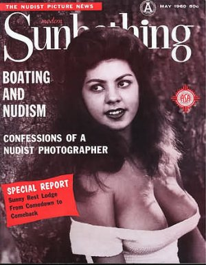 Modern Sunbathing  magazine. May,1960